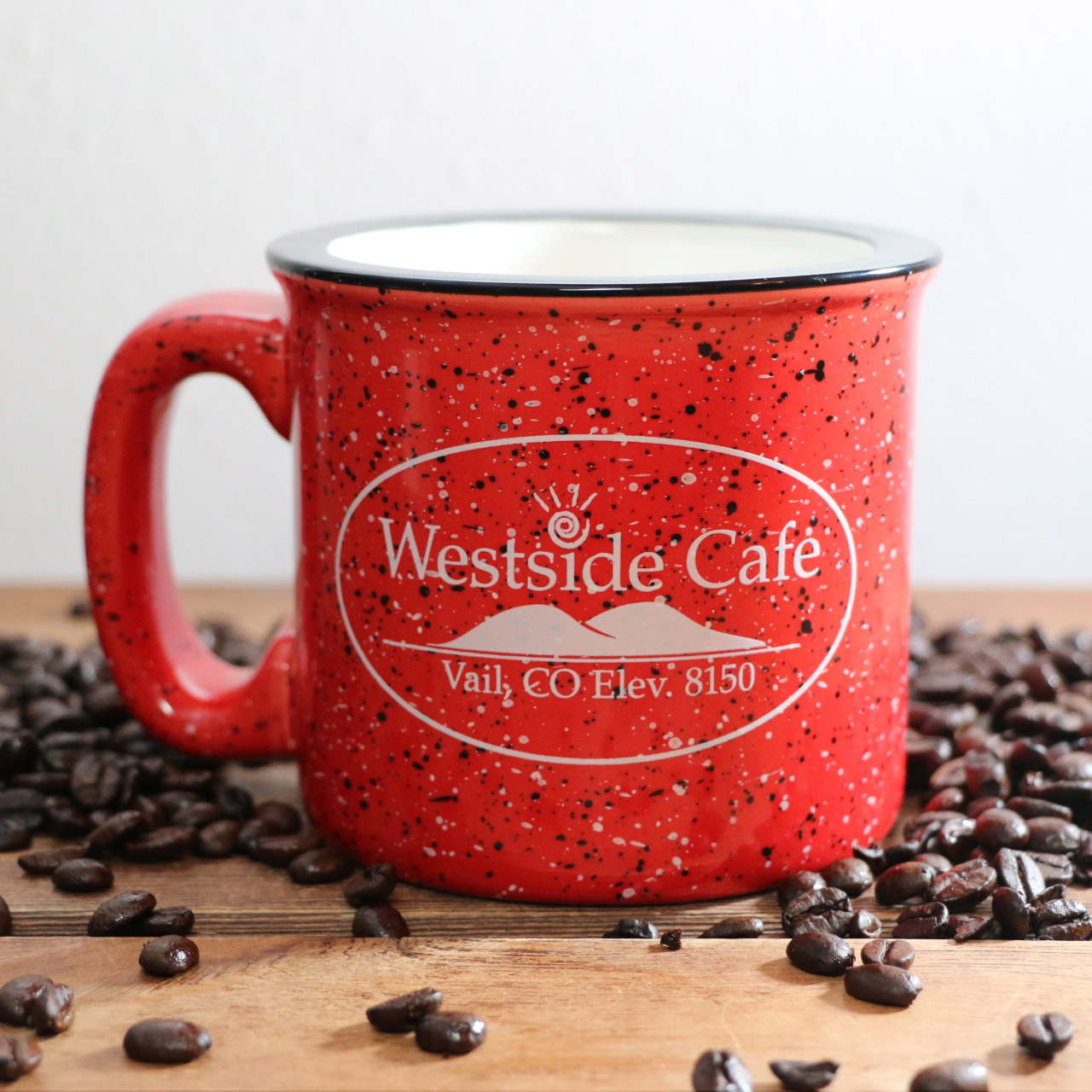 Red Mug from Westside Cafe